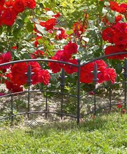 Virágoskert szegély